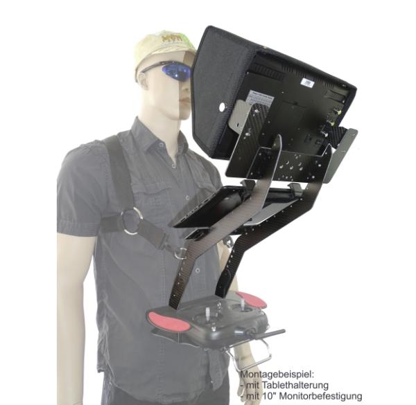 """YUNEEC ST16S Pulthalterung mit 10"""" Monitor"""