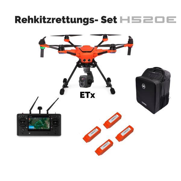 Rehkitzrettungs-Set H520E-ETx, 4 Akkus, ST16E, Rucksack,Drohnenplakette