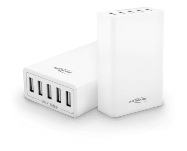 5-Port USB Charger 50W - Quick Charge 3.0