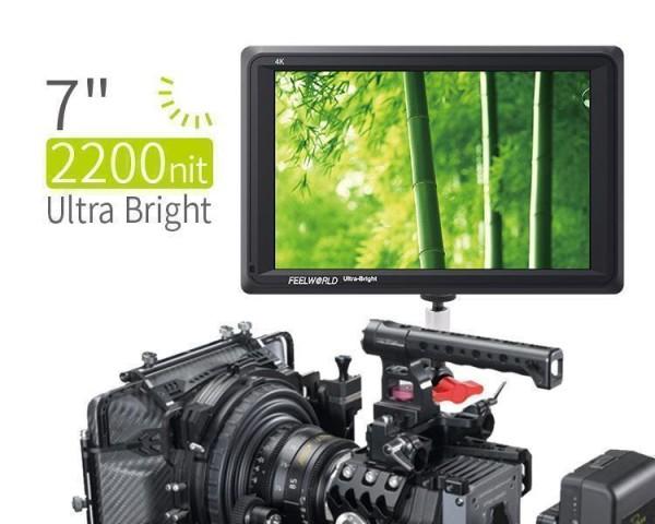 """7"""" Feldmonitor mit ULTRA hellem Display und HDMI Anschluss FW279"""