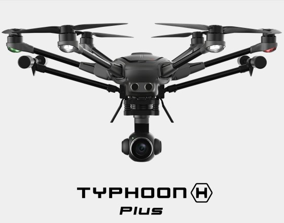 YUNEEC Typhoon H plus inkl Intel® RealSense™